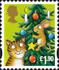 Christmas 2012 £1.90 Stamp (2012) Cat and Mouse