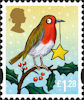 Christmas 2012 £1.28 Stamp (2012) Robin and Star