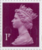 Definitives - Revised Colours 1p Stamp (2013) 1p Iridescent