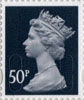 Definitives - Revised Colours 50p Stamp (2013) 50p Iridescent