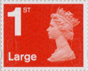 Definitives - Revised Colours 1st Large Stamp (2013) 1st Large Royal Mail Red
