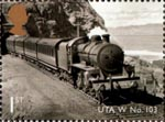 Classic Locomotives of Northern Ireland 1st Stamp (2013) Ulster Transport Authority W Class No. 103