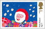 Children's Christmas 1st Stamp (2013) Molly Robson, Age 7