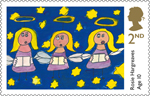 Children's Christmas 2nd Stamp (2013) Rosie hargreaves, Age 10