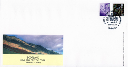 2015 Regional First Day Cover from Collect GB Stamps
