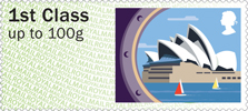 Post & Go : Sea Travel 1st Stamp (2015) Sydney