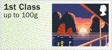 Post & Go : Sea Travel 1st Stamp (2015) Ha Long Bay
