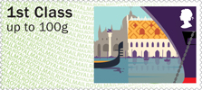 Post & Go : Sea Travel 1st Stamp (2015) Venice