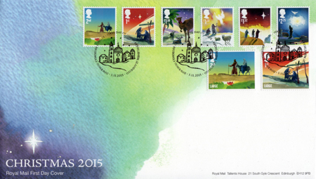 2015 Commemortaive First Day Cover from Collect GB Stamps