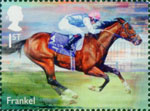 Racehorse Legends 1st Stamp (2017) Frankel
