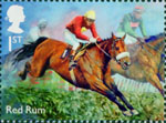 Racehorse Legends 1st Stamp (2017) Red Rum
