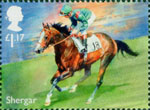 Racehorse Legends £1.17 Stamp (2017) Shergar