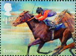 Racehorse Legends £1.57 Stamp (2017) Estimate