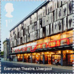 Landmark Buildings 1st Stamp (2017) Everyman Theatre, Liverpool