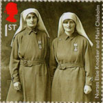 First World War 1917 1st Stamp (2017) Nurses Elsie Knocker and Mairi Chisholm