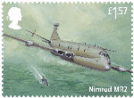 The RAF Centenary £1.57 Stamp (2018) Nimrod MR2