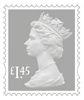 New Definitives £1.45 Stamp (2018) Dove Grey