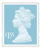 New Definitives £1.55 Stamp (2018) Marine Turquoise