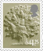 New Country Definitives £1,25 Stamp (2018) England £1.25