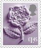 New Country Definitives £1.45 Stamp (2018) England £1.45