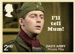 Dads Army 2nd Stamp (2018) Private Pike – I'll tell Mum!