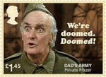 Dads Army £1.45 Stamp (2018) Private Frazer – We're doomed….Doomed!