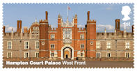 Hampton Court Palace 1st Stamp (2018) Hampton Court Palace – West Front