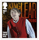 The Old Vic 1st Stamp (2018) King Lear, 2016