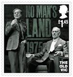 The Old Vic £1.45 Stamp (2018) No Man's Land, 1975