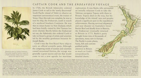 Captain Cook and Endeavour (2018)