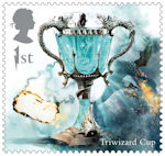 Harry Potter 1st Stamp (2018) Triwizard Cup