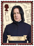Harry Potter 1st Stamp (2018) Severus Snape