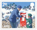 Christmas 2018 2nd Large Stamp (2018) Postbox