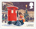 Christmas 2018 1st Large Stamp (2018) Postbox