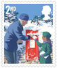 Christmas 2018 2nd Stamp (2018) Postbox
