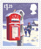 Christmas 2018 £1.25 Stamp (2018) Postbox