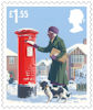 Christmas 2018 £1.55 Stamp (2018) Postbox