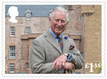HRH The Prince of Wales : 70th Birthday £1.55 Stamp (2018) HRH The Prince of Wales at the Castle of Mey