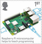 British Engineering 1st Stamp (2019) Raspberry Pi