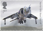 British Engineering 1st Stamp (2019) Harrier GR3: Short Take-off
