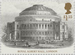 Queen Victoria Bicentenary £1.55 Stamp (2019) Royal Albert Hall, London