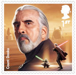 Star Wars - The Rise of Skywalker 1st Stamp (2019) Count Dooku