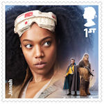 Star Wars - The Rise of Skywalker 1st Stamp (2019) Jannah