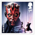 Star Wars - The Rise of Skywalker 1st Stamp (2019) Darth Maul