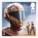 Star Wars - The Rise of Skywalker 1st Stamp (2019) Zorii Bliss