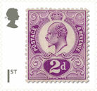 Stamp Classics 1st Stamp (2019) King Edward VII (1910)