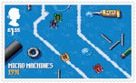 Video Games £1.55 Stamp (2020) Micro Machines
