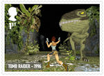 Video Games 1st Stamp (2020) Tomb Raider - 1996