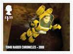 Video Games £1.55 Stamp (2020) Tomb Raider Chronicles - 2000
