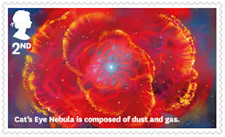 Visions of the Universe 2nd Stamp (2020) Cats Eye Nebula